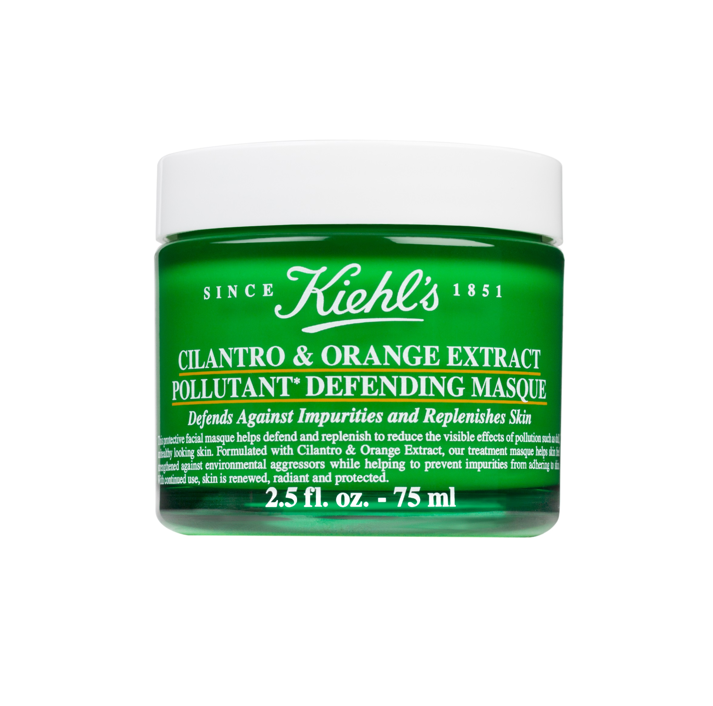 Cilantro & Orange Pollutant Defending Masque 34 euro