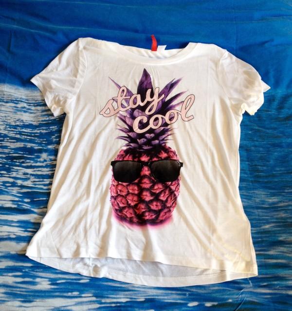 maglietta ananas