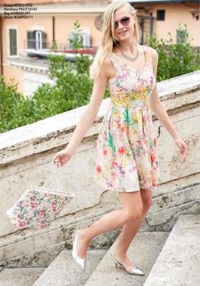 vestito fiori