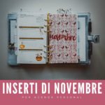 Agenda di novembre: inserti gratuiti
